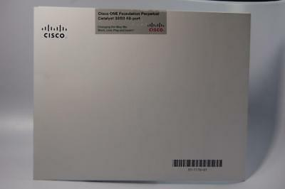 NEW Cisco One Foundation Perpetual for Catalyst 3850 48-port C1FPCAT38502K9