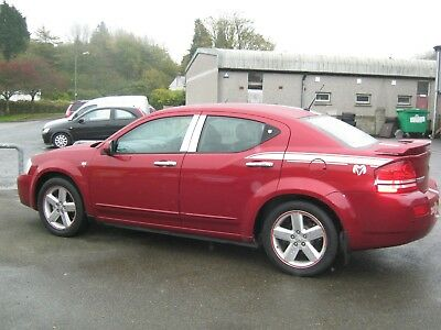 RARE CAR ; 2008 DODGE AVENGER SXT 2.0cc in met red **MOT OCT 2019**ONLY £1799