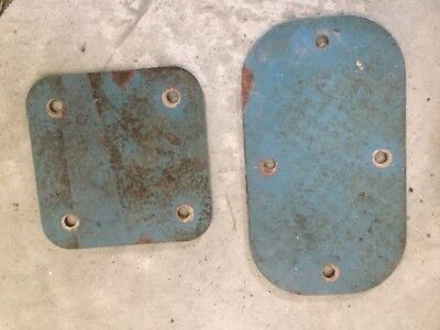 Willys Aero Firewall/Floor Plates