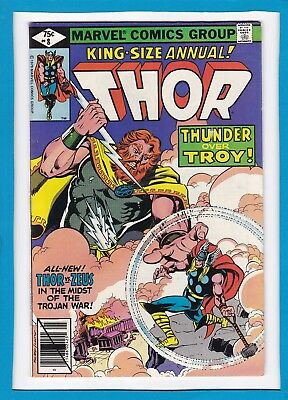 """Mighty Thor King-Sized Annual #8_1979_Very Good_Zeus_""""thunder Over Troy""""!"""