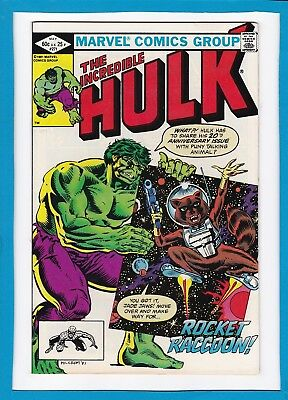 INCREDIBLE HULK #271_MAY 1982_FINE_1st APPEARANCE OF ROCKET RACCOON_BRONZE AGE!