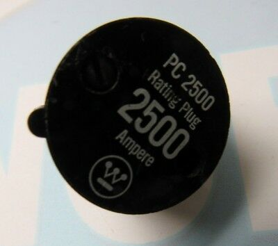 Westinghouse Pc2500 2500A Rating Plug