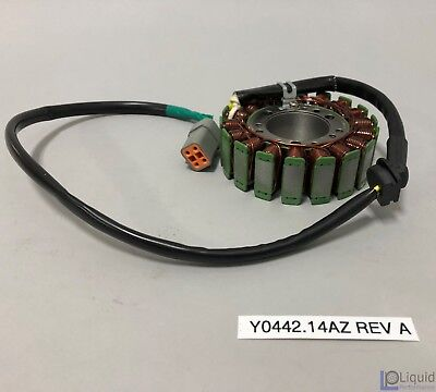 Erik Buell EBR Motorcycle STATOR ASSEMBLY (Y0442.14AZ Rev A)