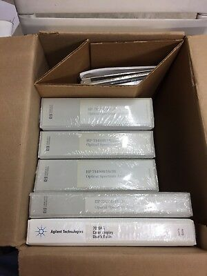 HP Agilent Keysight 70004a / 71450B Optical Spectrum Analyzer Manual Package NIB