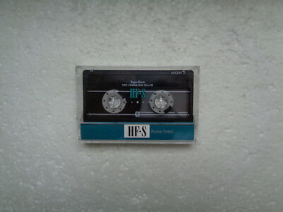 Vintage Audio Cassette SONY HF-S 60 From 1992 - Fantastic Condition !!