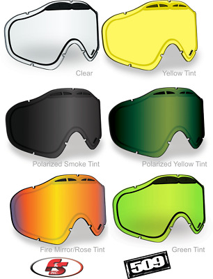 60dc0be5cf96 New 2019 509 Sinister X5 Ignite Heated Snowmobile Goggles  Lenses-Polarized-Clear