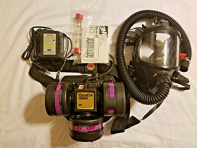3M™ Breathe Easy™ Turbo Powered Air Purifying Respirator (PAPR) & Mask