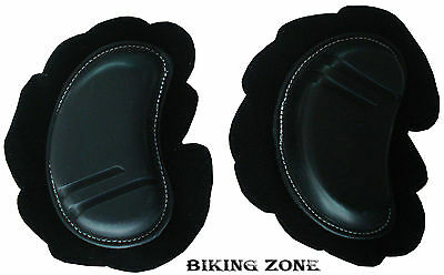 Pair Of Ce Approved Racing Knee Sliders Motorbike Motorcycle Armour Protection