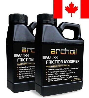 Archoil AR9100 Friction Modifier VALUE PACK - TWO 16oz Bottles of AR9100 for ...