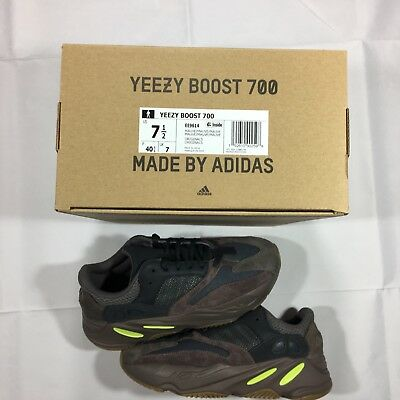 7e9936e151427 ADIDAS YEEZY BOOST 700 Mauve Wave Runner Grey Brown EE9614 US Size ...