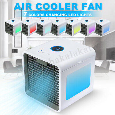 Portable Air Cooler Mini Evaporative Fan Conditioner Cool Cooling For Bedroom AU