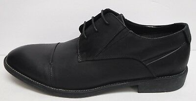 a8f08a478cf STEVE MADDEN SIZE 11 Black Leather Oxfords New Mens Shoes