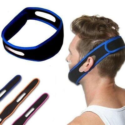 1 pc Snore Stop Belt Anti-Snoring Chin Strap Sleeping Snore Apnea Jaw Solution