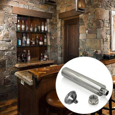 Man Gift 2 Oz Portable Whisky Alcohol Drinkware Wine Tube Hip Flask Flagon Party