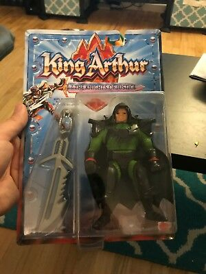 King Arthur & The Knights Of Justice Warlord Viper Action Figure New
