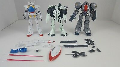 Bandai HG 1/144 Turn A and No Grade 1/144 Turn X Gundam, Mobile Sumo Assembled