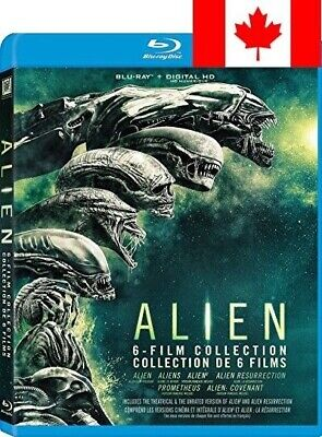 Alien 6 Film Collection (Bilingual) [Blu-ray + Digital Copy]