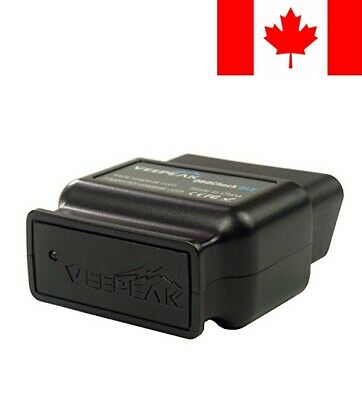 Veepeak OBDCheck BLE Bluetooth 4.0 OBD2 Scanner Adapter for iOS & Android - A...