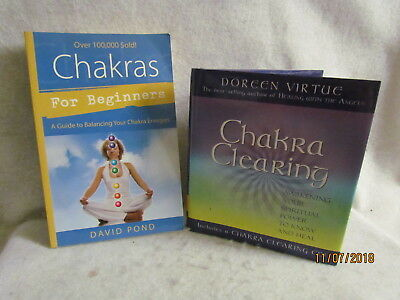 Chakras for Beginners by David Pond and Chakra Clearing by Doreen Virtue