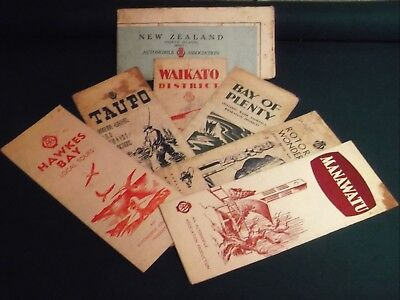 Vintage New Zealand Road Maps