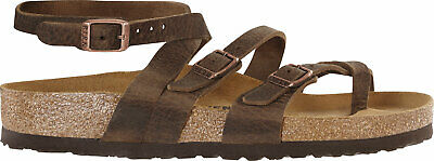 5c89a4635469 Birkenstock Seres Leather Camberra Leather Women Sandals slipper footbed -  NEW