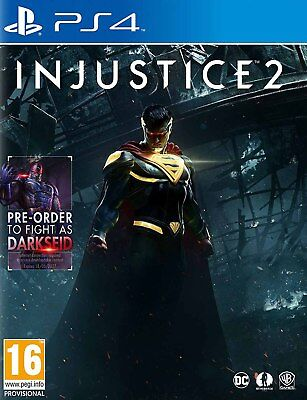Injustice 2 (PS4)  BRAND NEW AND SEALED - IN STOCK - QUICK DISPATCH