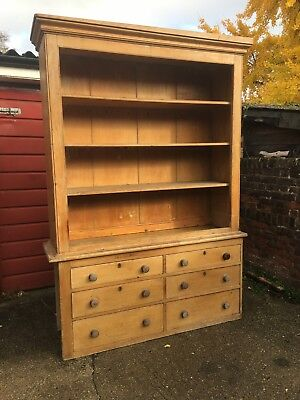 NICE SOLID PINE WELSH DRESSER Early 20th Century