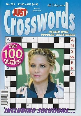 Just Crosswords #275  NEW PUZZLE Magazine CROSSWORD