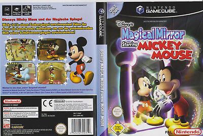 Magical Mirror starring Micky Maus >Originale Verpackung in DVD-Hülle  GameCube
