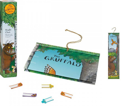 Kids The Gruffalo Hanging Height Growth Wall Chart Magnetic Marker 150cm 5ft