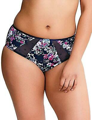 Sculptress by Panache Candi Full BriefKnickers 9372 Floral Print New Lingerie