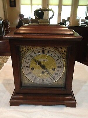 Howard Miller Shelf Clock 612-437 with 340-020 Movement Made in West Germany