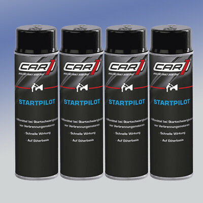 CAR1® Startpilot Starthilfe CO 3605 4 x 250 ml