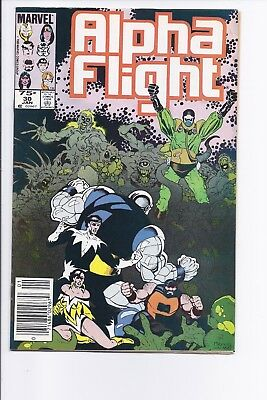 High Grade Canadian Newsstand Variant Edition $0.75 Price Alpha Flight #30