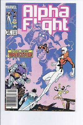 High Grade Canadian Newsstand Variant Edition $0.95 Price Alpha Flight #32