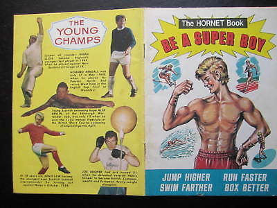The Hornet, BE A SUPER BOY (SPORTS), Booklet, VG/EX, 1971