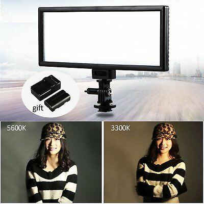 "VILTROX L132T 0.78""/2cm Ultra Thin CRI95 5600K/3300K Bi-color LED Video Light..."