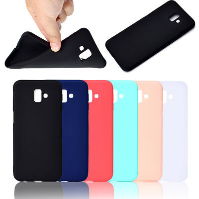 Slim Candy TPU Silicone Rubber Soft Back Case Cover For iPhone samsung J3 J62018