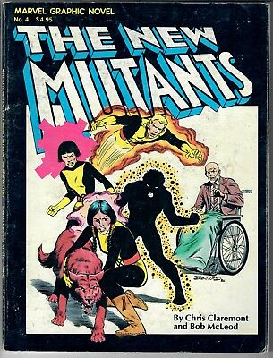 New Mutants Graphic Novel (1st Print)  -- Marvel Graphic Novel No. 4 (1st App)