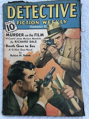 Pulp Magazine Detective Fiction Weekly