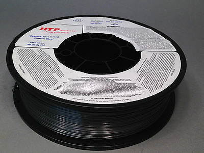 """2 10lb .030"""" HTP Flux Cored E71T-11 Gasless Steel Mig Wire core Made in USA"""