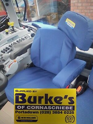 Tractor Grammer Maximo Dynamic Plus Seat Blue Heavy Duty Seat Cover Plant