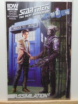 Star Trek Next Generation Doctor Who Assimilation 2 #6 IDW Comics CB6488
