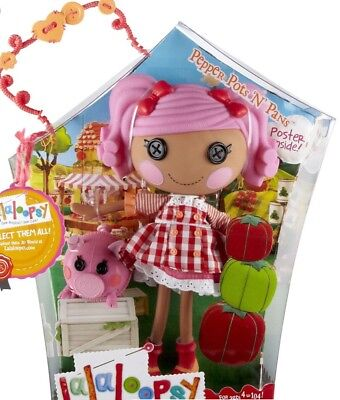 Lalaloopsy Pepper Pots N Pans Puppe Full Size