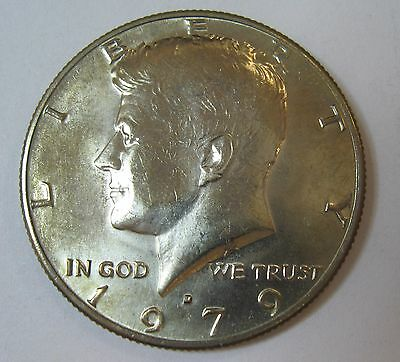 1979-D John F Kennedy Clad Half Dollar Choice BU Condition From Mint Set  DUTCH