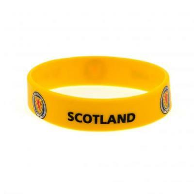 Scotland FA Silicone Wristband Yellow Crest Gift New Official Licensed Product