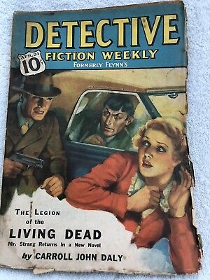 Pulp Magazines Detective Fiction Weekly