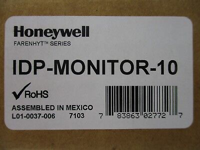 (New) Silent Knight Idp-Monitor-10 - Ten Input Monitor Module