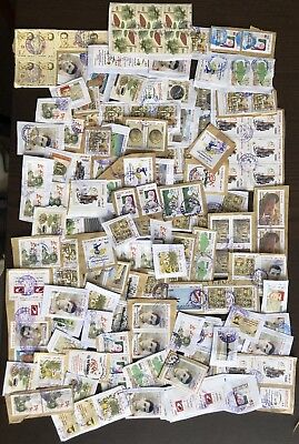 Kiloware (lot1) Stamps Tunisia Tunisie on Paper Heavy Duplication Timbres Africa
