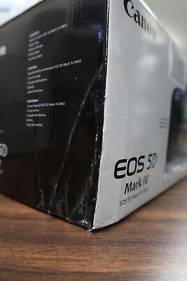 Canon EOS 5D Mark IV 30.4MP Digital SLR Camera - BOX DAMAGE